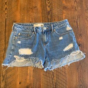 Garage Favorite Short Jean Shorts Distressed Raw